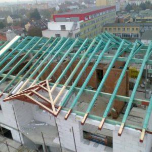 Dodávka krovu Novosadský Dvůr – Olomouc