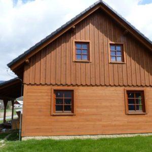 Dřevostavba Vernířovice